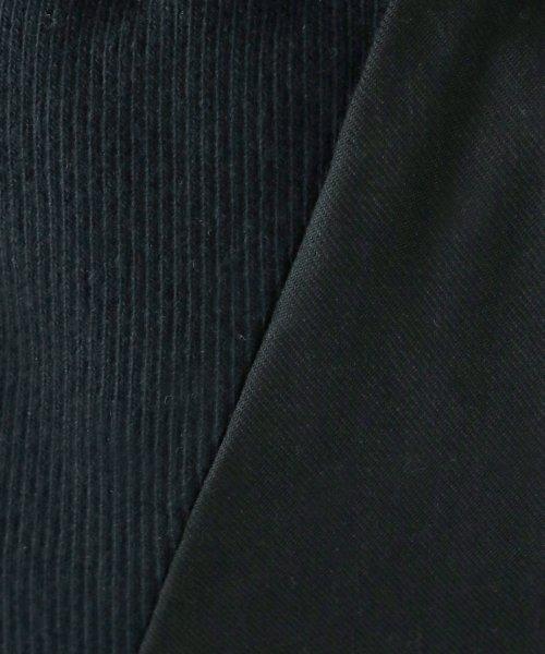 LASUD(ラシュッド)/【ラディエイト RADIATE】サイドウエスト リブ切替 ワイドパンツ/012202159_img12