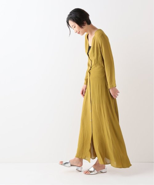 JOURNAL STANDARD relume(ジャーナルスタンダード レリューム)/【OR ~MIXED BUSINESS~】BUTTON UP DRESS RAYON:ワンピース/19040463000810_img01
