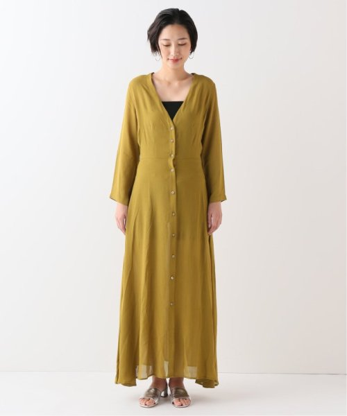 JOURNAL STANDARD relume(ジャーナルスタンダード レリューム)/【OR ~MIXED BUSINESS~】BUTTON UP DRESS RAYON:ワンピース/19040463000810_img03