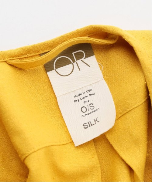JOURNAL STANDARD relume(ジャーナルスタンダード レリューム)/【OR ~MIXED BUSINESS~】BASIC BUTTON UP SILK NOIL:ブラウス/19051463000410_img12