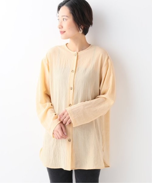 JOURNAL STANDARD relume(ジャーナルスタンダード レリューム)/【OR ~MIXED BUSINESS~】BASIC BUTTON UP SILK NOIL:ブラウス/19051463000410_img16