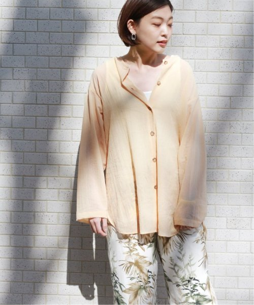 JOURNAL STANDARD relume(ジャーナルスタンダード レリューム)/【OR ~MIXED BUSINESS~】BASIC BUTTON UP SILK NOIL:ブラウス/19051463000410_img22