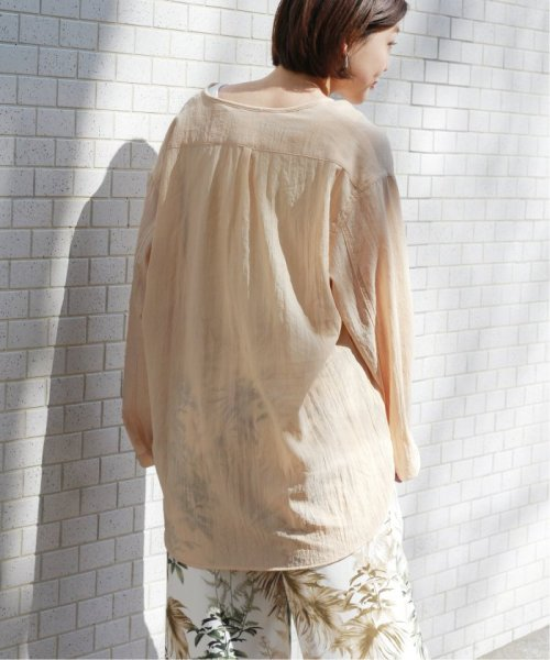 JOURNAL STANDARD relume(ジャーナルスタンダード レリューム)/【OR ~MIXED BUSINESS~】BASIC BUTTON UP SILK NOIL:ブラウス/19051463000410_img24