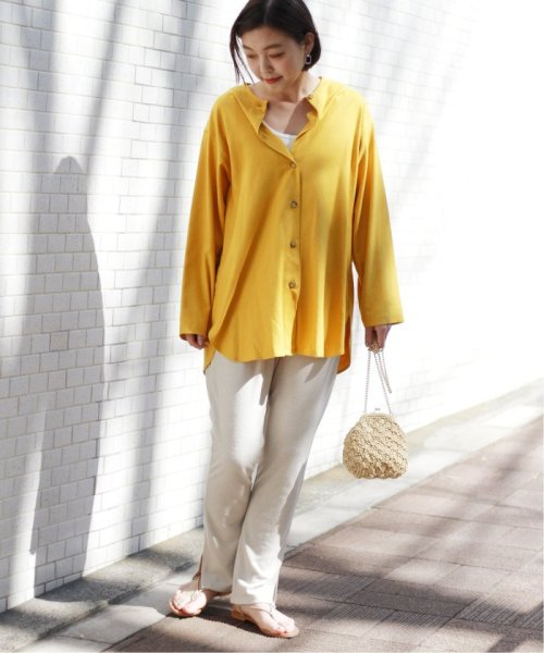 JOURNAL STANDARD relume(ジャーナルスタンダード レリューム)/【OR ~MIXED BUSINESS~】BASIC BUTTON UP SILK NOIL:ブラウス/19051463000410_img25