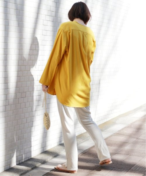 JOURNAL STANDARD relume(ジャーナルスタンダード レリューム)/【OR ~MIXED BUSINESS~】BASIC BUTTON UP SILK NOIL:ブラウス/19051463000410_img28