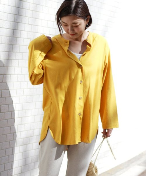JOURNAL STANDARD relume(ジャーナルスタンダード レリューム)/【OR ~MIXED BUSINESS~】BASIC BUTTON UP SILK NOIL:ブラウス/19051463000410_img29