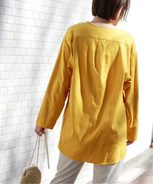 JOURNAL STANDARD relume(ジャーナルスタンダード レリューム)/【OR ~MIXED BUSINESS~】BASIC BUTTON UP SILK NOIL:ブラウス/19051463000410_img31