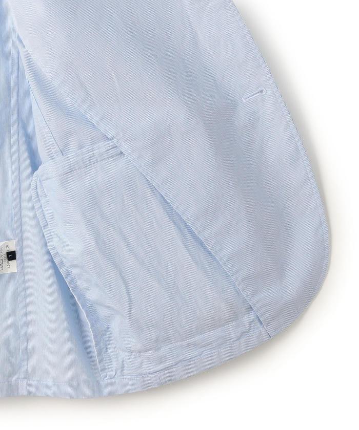 リネン シップス ストレッチ ジャケット/ (メンズ) コードレーン (SHIPS) SC: コットン/ セットアップ