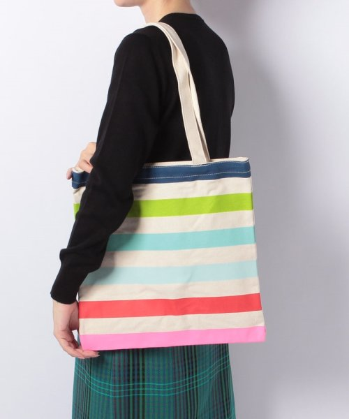 d8a5f34fe kate spade new york(ケイトスペードニューヨーク)/Kate spade Candy Stripe Canvas Book
