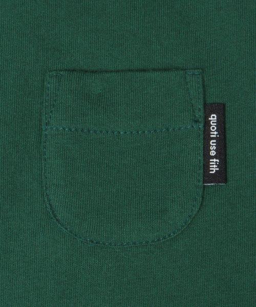 quoti use fith(クオティ ユース フィス)/26/- テンジク ポケビッグTシャツ/9192426_img05
