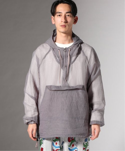 JOURNAL STANDARD(ジャーナルスタンダード)/【カタログ掲載】FILL THE BILL×TR2/フィルザビル別注:SEE THROUGH LONG ANORAK/19011610007910_img02