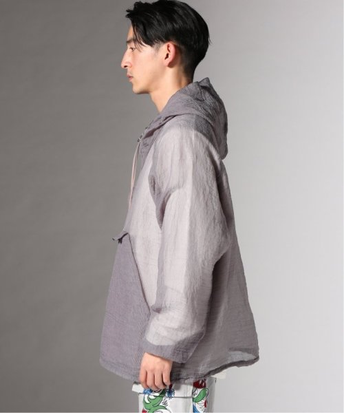 JOURNAL STANDARD(ジャーナルスタンダード)/【カタログ掲載】FILL THE BILL×TR2/フィルザビル別注:SEE THROUGH LONG ANORAK/19011610007910_img03
