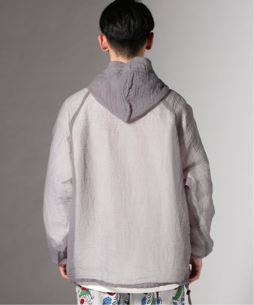 JOURNAL STANDARD(ジャーナルスタンダード)/【カタログ掲載】FILL THE BILL×TR2/フィルザビル別注:SEE THROUGH LONG ANORAK/19011610007910_img04