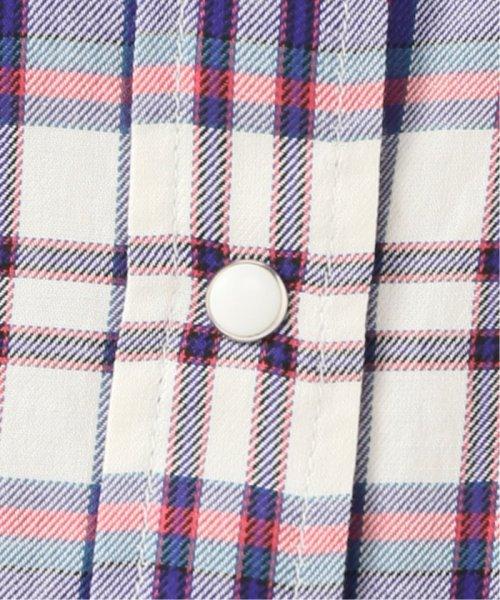 Spick & Span(スピック&スパン)/マルチカラーチェックドルマンシャツ◆/19050200102010_img10