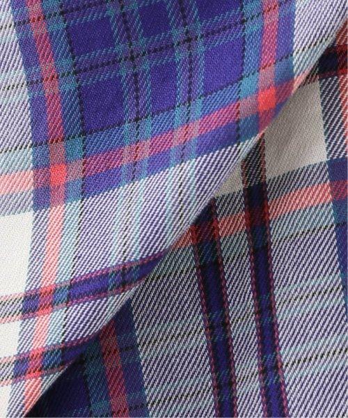 Spick & Span(スピック&スパン)/マルチカラーチェックドルマンシャツ◆/19050200102010_img14