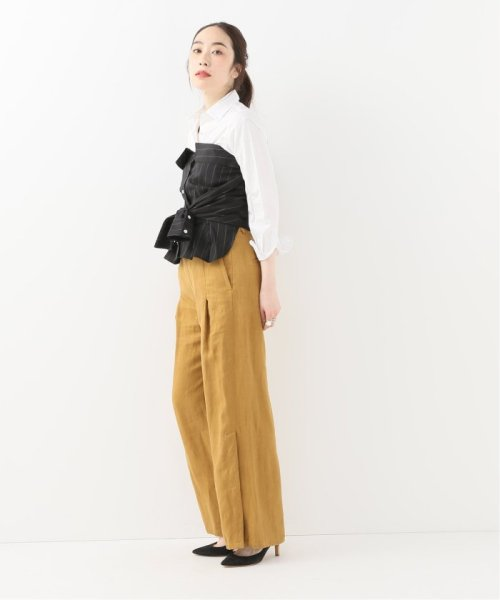 Spick & Span(スピック&スパン)/【SECULAR】 SLEEVELESS TOP WITH SLEEVE WRAP/19051210003110_img02