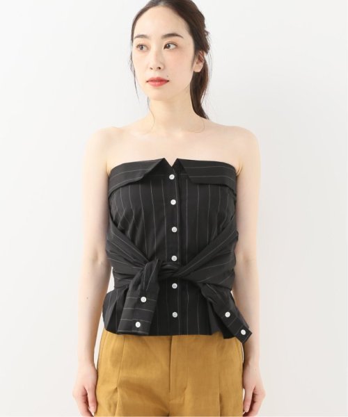 Spick & Span(スピック&スパン)/【SECULAR】 SLEEVELESS TOP WITH SLEEVE WRAP/19051210003110_img03