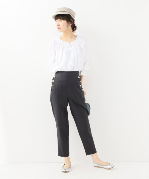 Spick & Span(スピック&スパン)/【SECULAR】 RUFFLE NECK TIE BLOUSE/19051210003210_img01