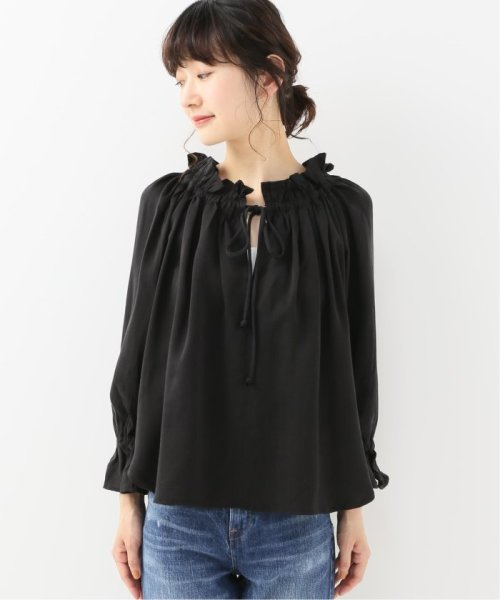 Spick & Span(スピック&スパン)/【SECULAR】 RUFFLE NECK TIE BLOUSE/19051210003210_img03