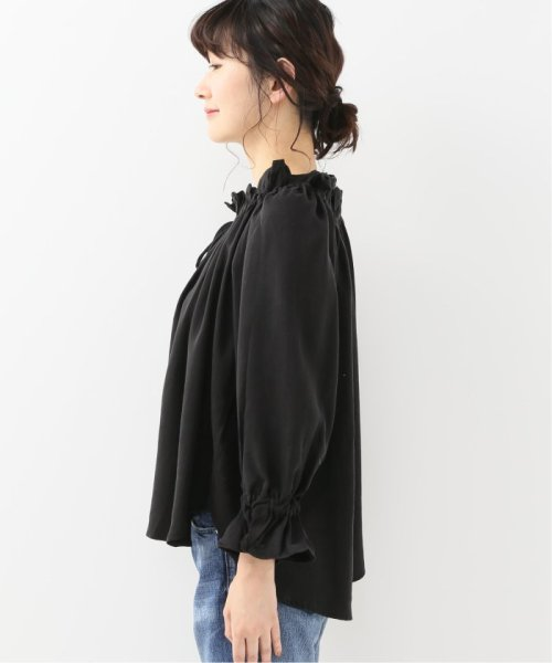 Spick & Span(スピック&スパン)/【SECULAR】 RUFFLE NECK TIE BLOUSE/19051210003210_img04