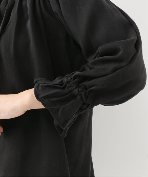 Spick & Span(スピック&スパン)/【SECULAR】 RUFFLE NECK TIE BLOUSE/19051210003210_img09