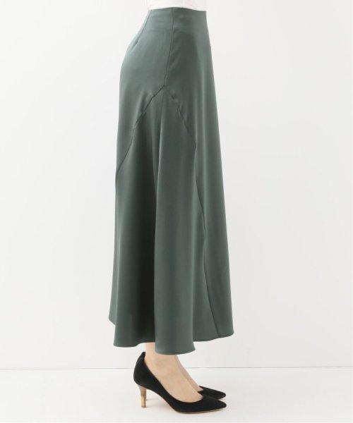 Spick & Span(スピック&スパン)/サテンイレギュラーヘムラインスカート◆/19060200511010_img06