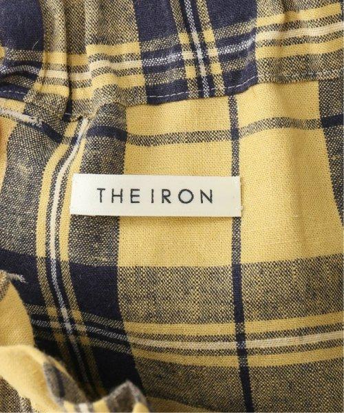 IENA(イエナ)/THE IRON plaid イージーパンツ/19030910009010_img11