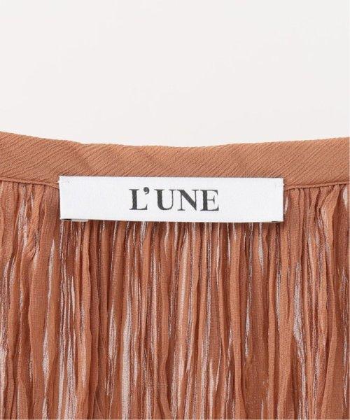 IENA(イエナ)/LUNE Pleated ロングブラウスワンピース/19040910019910_img16