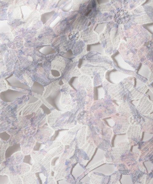 Apuweiser-riche(アプワイザー リッシェ)/【andGIRL 4月号掲載】ケミカルレースプリントタイトスカート/29132241_img23