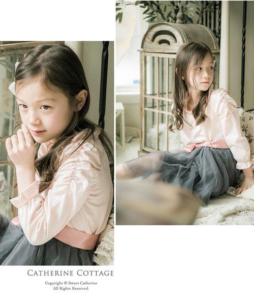 Catherine Cottage(キャサリンコテージ)/ギャザースリーブカットソー/QS026_img10