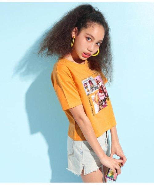 ANAP GiRL(アナップガール)/キュートカラーフォトクロップドTシャツ/2039300019_img02