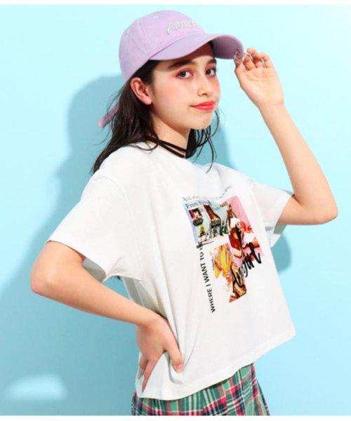 ANAP GiRL(アナップガール)/キュートカラーフォトクロップドTシャツ/2039300019_img05
