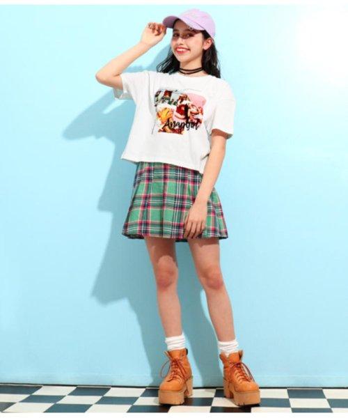 ANAP GiRL(アナップガール)/キュートカラーフォトクロップドTシャツ/2039300019_img06