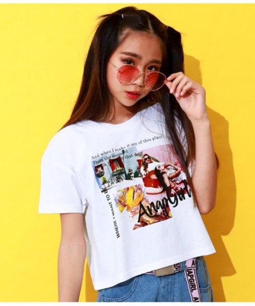 ANAP GiRL(アナップガール)/キュートカラーフォトクロップドTシャツ/2039300019_img07
