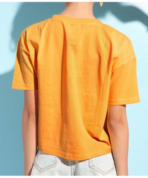 ANAP GiRL(アナップガール)/キュートカラーフォトクロップドTシャツ/2039300019_img10