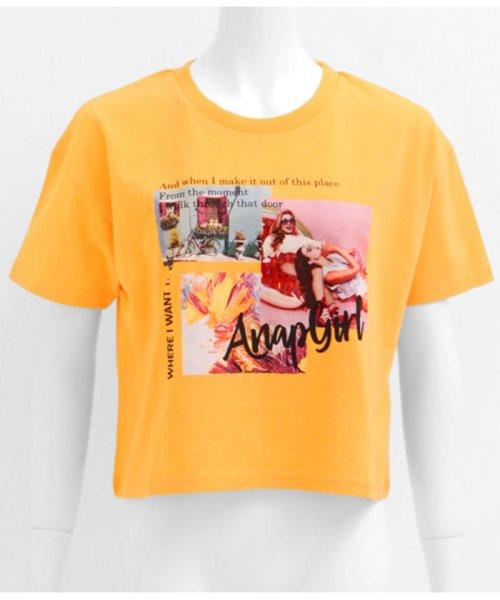 ANAP GiRL(アナップガール)/キュートカラーフォトクロップドTシャツ/2039300019_img13