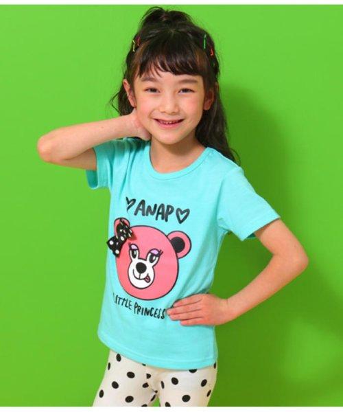 ANAP KIDS(アナップキッズ)/リップちゃんドットリボン付きTシャツ/0437200002_img03