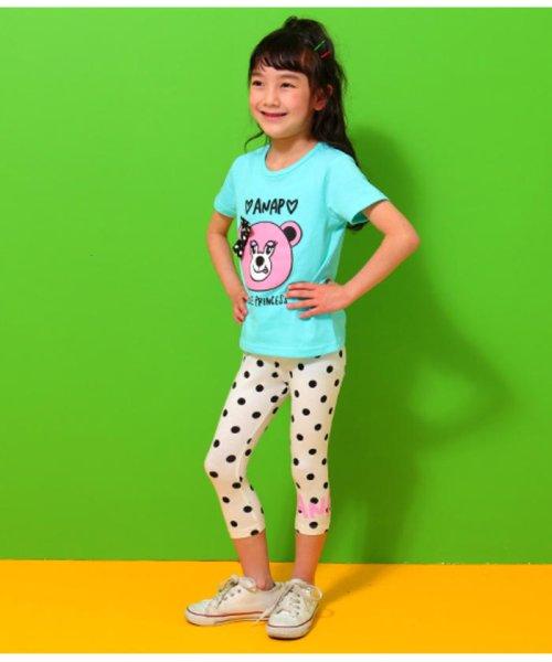 ANAP KIDS(アナップキッズ)/リップちゃんドットリボン付きTシャツ/0437200002_img07