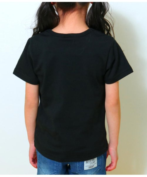 ANAP KIDS(アナップキッズ)/リップちゃんドットリボン付きTシャツ/0437200002_img09