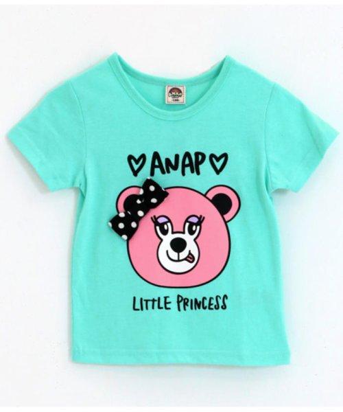 ANAP KIDS(アナップキッズ)/リップちゃんドットリボン付きTシャツ/0437200002_img13