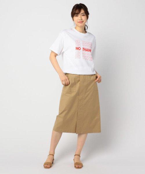 FREDY&GLOSTER(フレディアンドグロスター)/【GMT/ジェネラルミーンティーシャツ】NO THANKS Tシャツ/9-0369-2-23-010_img09
