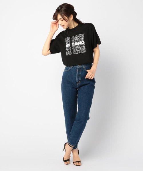 FREDY&GLOSTER(フレディアンドグロスター)/【GMT/ジェネラルミーンティーシャツ】NO THANKS Tシャツ/9-0369-2-23-010_img10