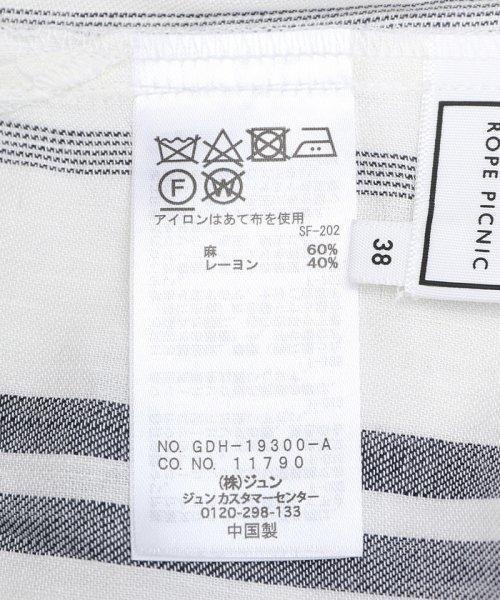 ROPE' PICNIC(ロペピクニック)/★【2WAY】フレンチリネン混シャツ/GDH19300_img11