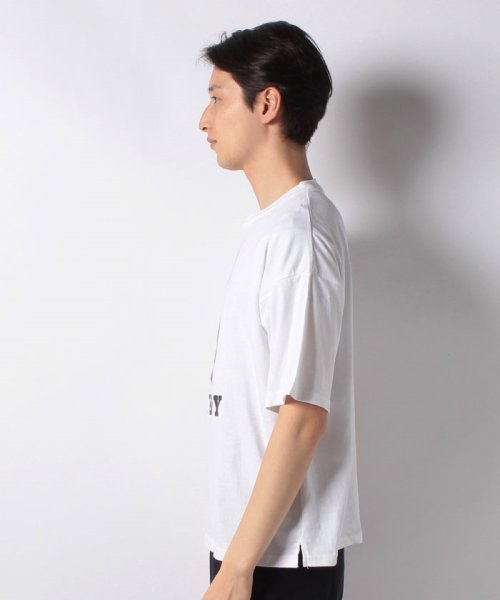 MARUKAWA(マルカワ)/【別注】【PLAYBOY】プレイボーイ ビッグシルエット アイコンロゴ 半袖Tシャツ/0112280947_img01