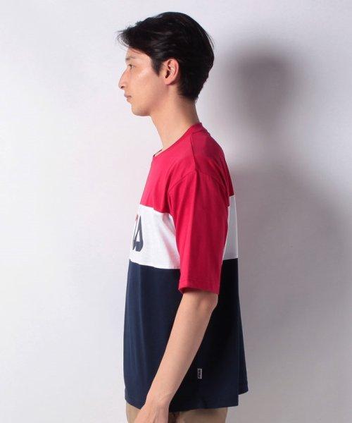 MARUKAWA(マルカワ)/【FILA】フィラ 切り替え ロゴ 半袖Tシャツ/0113060077_img01