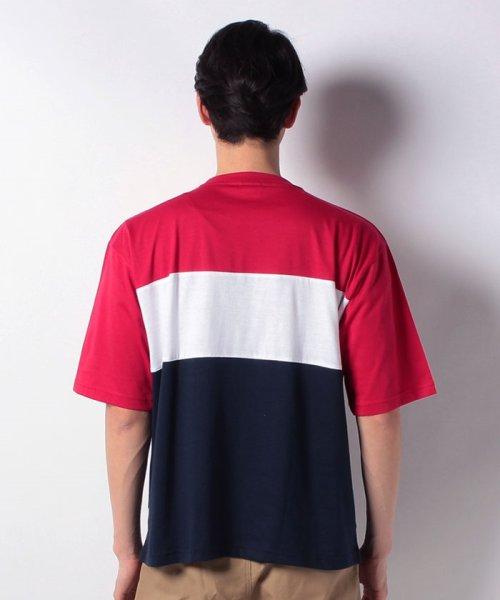 MARUKAWA(マルカワ)/【FILA】フィラ 切り替え ロゴ 半袖Tシャツ/0113060077_img02