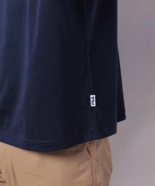 MARUKAWA(マルカワ)/【FILA】フィラ 切り替え ロゴ 半袖Tシャツ/0113060077_img04