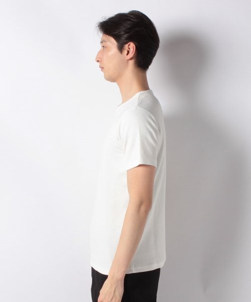JNSJNM(ジーンズメイト メンズ)/【BLUE STANDARD】ミニワッフルクルーネックTシャツ/205297030_img01