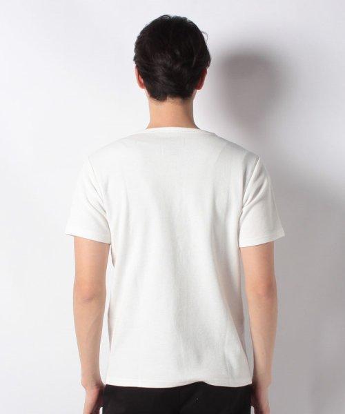 JNSJNM(ジーンズメイト メンズ)/【BLUE STANDARD】ミニワッフルクルーネックTシャツ/205297030_img02