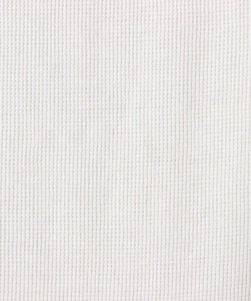 JNSJNM(ジーンズメイト メンズ)/【BLUE STANDARD】ミニワッフルクルーネックTシャツ/205297030_img04